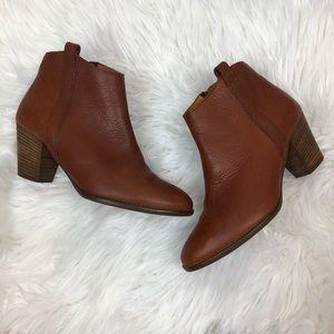 Madewell Billie Boot in Brown Booties 6.5